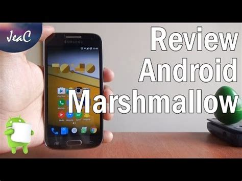 android marshmallow  review en espanol youtube