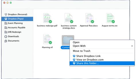dropbox shared folder tip of the week how to organize your shared folders