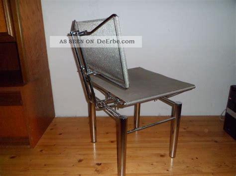 Stuhl Chrom by Designer Stuhl Chrom Sitz Und Lehne Aus Metallgeflecht