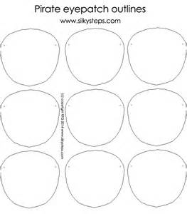 pirate eye patch template pirate eyepatch outline template