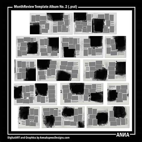 Album Review Outline by Psd Monthreview Template Album No 2 клуб Quot Slivskladchik Quot