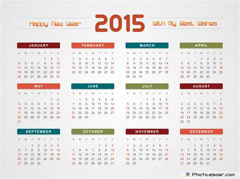 printable whole year calendar 2015 4 best images of full year calendar 2015 printable 2015