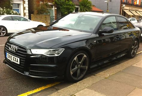 Audi A6 Schwarz by Audi A6 Ultra Black Edition Business Car Manager