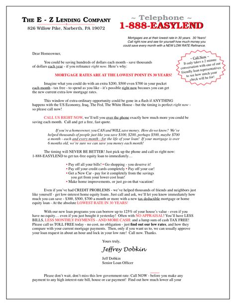 Insurance Quote Letters Insurance Sales Letters Free Sle Letter Jeffrey Dobkin