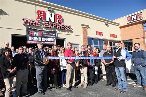 rnr tire express  custom wheels celebrates grand opening