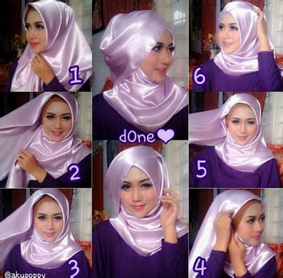 tutorial jilbab pashmina purple styles by ellen tutorial jilbab zaskia sungkar kreasi jilbab modern zaskia