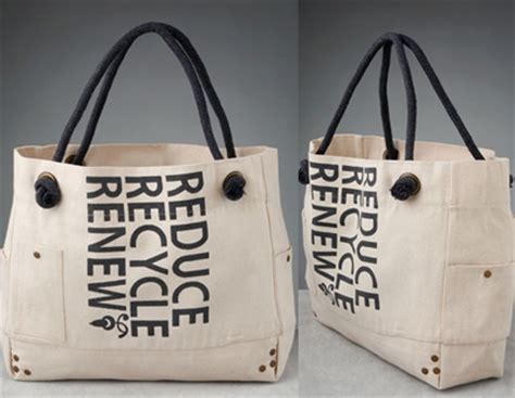 Eco Fashion The Beau Soleil Reduce Recycle Renew Tote the beau soleil reduce recycle renew bag