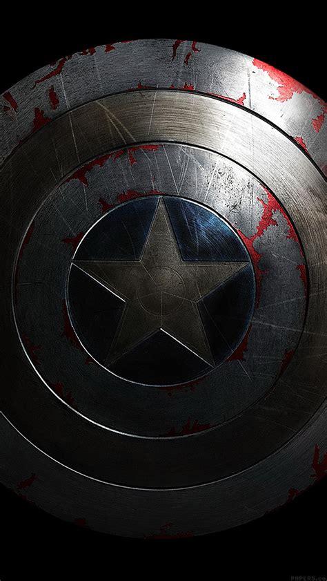 captain america dark wallpaper art