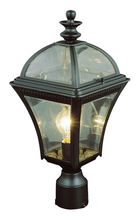 trans globe lighting trans globe lighting 5085 bk black single light up lighting large post light from the outdoor