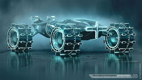 design legacy art tron legacy light runner design by daniel simon on behance