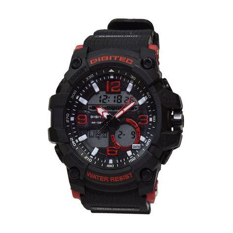Jam Tangan Digitec Hitam jual digitec dg2102 a jam tangan pria hitam