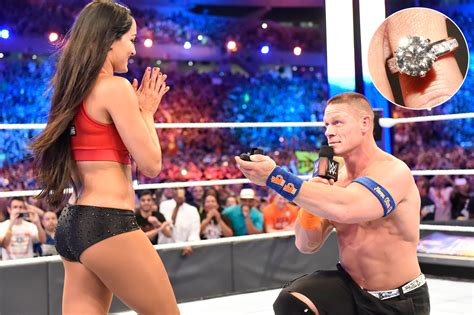 nikki bella and john wwe nikki bella and john cena wedding www pixshark