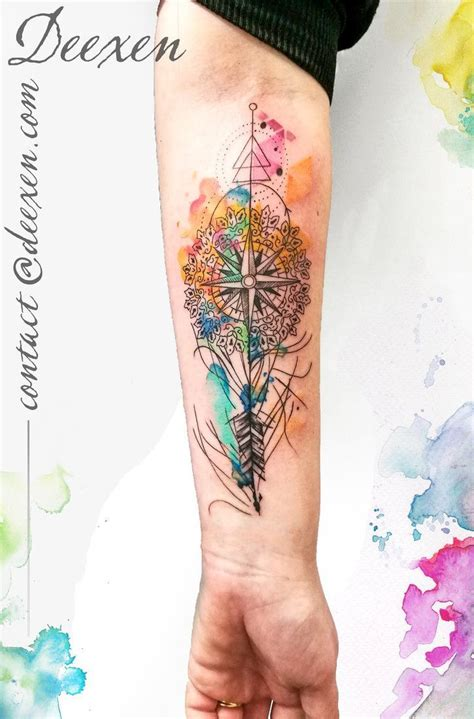watercolor tattoo ek i best 25 geometric watercolor ideas on