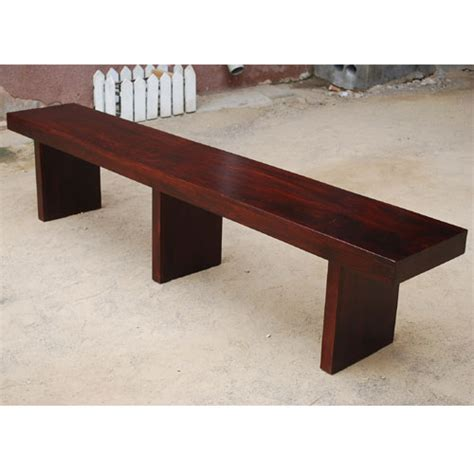 contemporary benches indoor handmade solid wood seven foot modern contemporary indoor