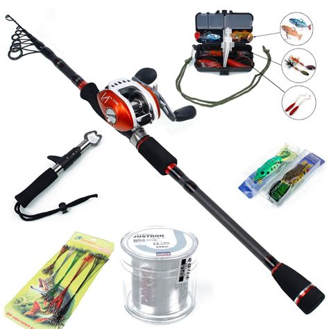 swing set troline combo saltwater lure spinning fishing rod with baitcasting