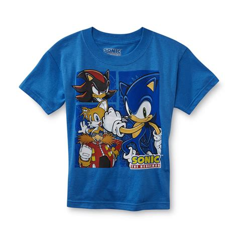 sonic the hedgehog boy s graphic t shirt sonic company