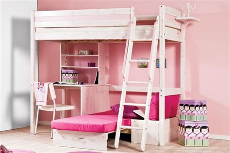 pink futon bunk bed with desk pink futon bunk bed with desk