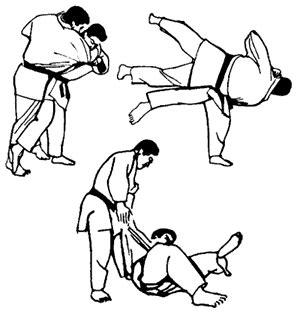 Judo Throws Drawings