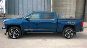 Blue Chevy Truck Black Wheels Well I Did It Traded My 2014 For A Page 2 2014