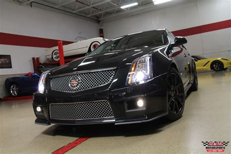Used Cadillac Wagon For Sale by 2013 Cadillac Cts V Wagon Stock M6430 For Sale Near Glen
