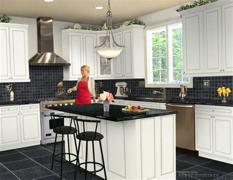 design my kitchen free seeityourway kitchen design challenge