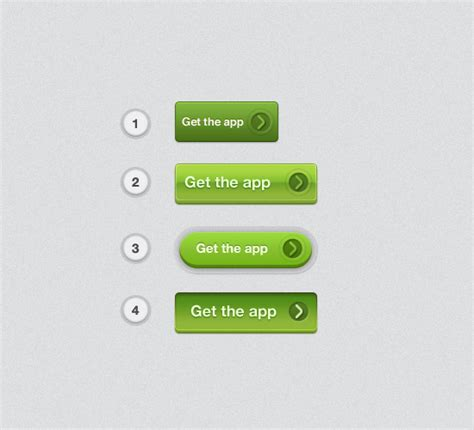 Html Button Templates by App Button Template