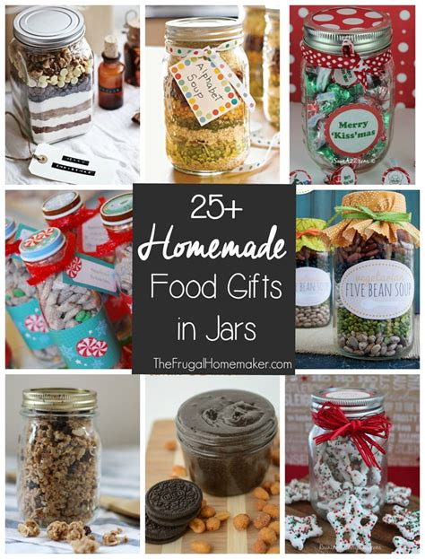 25 homemade food gifts in a jar 31 days to take the