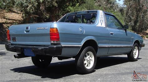 how to fix cars 1986 subaru brat auto manual service manual how to install 1986 subaru brat springs rear brat only 55k miles 4x4 4wd t
