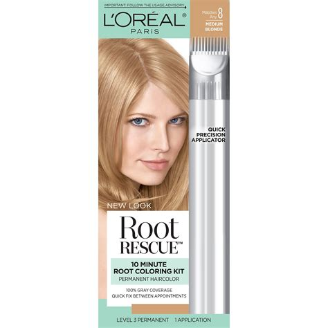 l oreal root rescue permanent hair color level 3 brown shade 4 1 application rite aid l or 233 al excellence cr 233 me permanent hair color 8 medium chemical