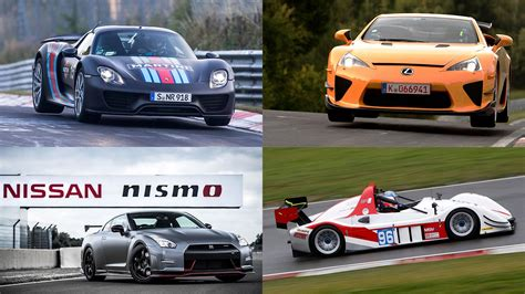 Fastest Cars Around Nurburgring by The Fastest Cars At The N 252 Rburgring In Pictures