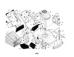 craftsman mower parts model 917374541 sears partsdirect
