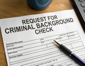 How To Check If You A Criminal Record How Criminal Background Checks Prevent You From Getting The