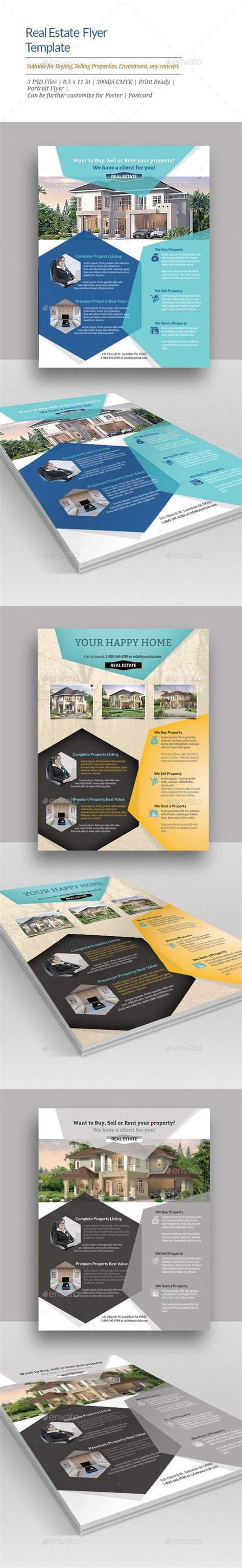 Real Estate Flyer Templates Flyer Template Real Estate Flyers And Flyers Real Estate Marketing Caign Template
