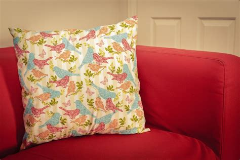 Make Cushions by How To Make A Zip Free Cushion Cover Hobbycraft
