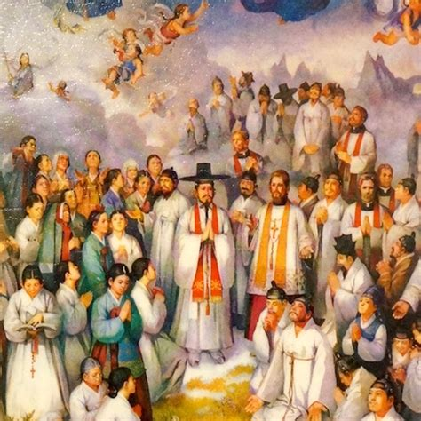 Sticker On The Wall 103 korean martyrs divine mercy icons