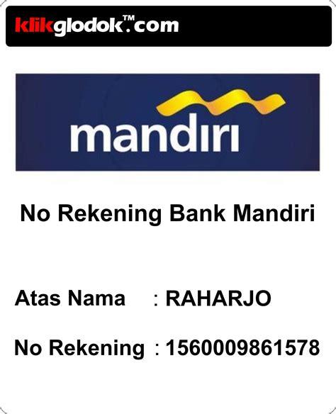 membuka rekening di mandiri sekuritas nomor rekening bank mandiri aswai com