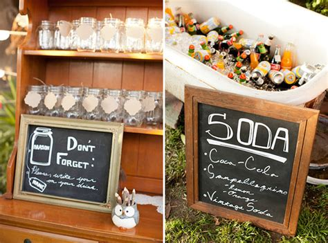 Backyard Wedding Bar Ideas Eclectic Backyard Wedding Duncan Part 2 Green