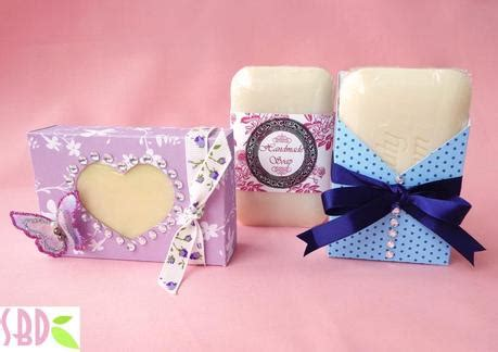 3 packaging per saponette handmade 3 handmade soap