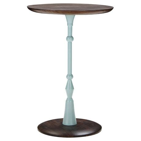 Freedom Side Table Pompidou Side Table Medium In With Light Blue Pole Was 269 Now 129 Thefreedomsale