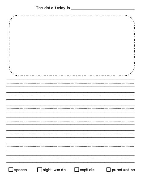 story writing paper for 2nd grade blank writing sheets for second graders 1000 images