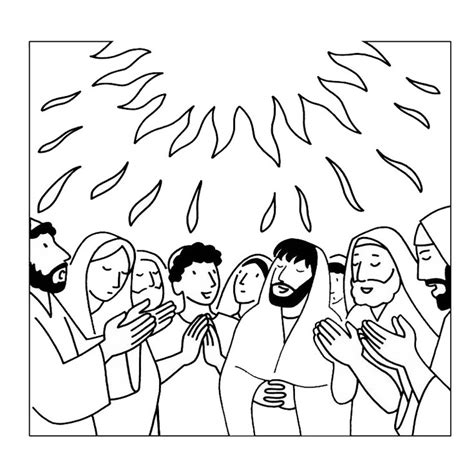 holy spirit coloring page az coloring pages