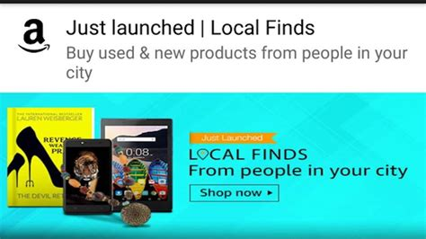 amazon local amazon local finds for buying selling new and used