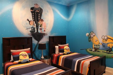 despicable me bedroom rock your vacation at the all star vacation dream home