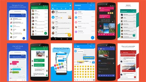 best text app for android 7 best sms or text messaging apps for android prime inspiration