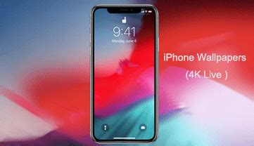 iphone xr xs wallpapers 4k hd live free hd in ios 12