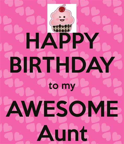 Happy Birthday Auntie Quotes Happy Birthday To My Awesome Aunt Birthday Pinterest