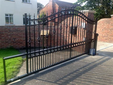 wrought iron gate electric gates and wood gates for automatic metal gates upcomingcarshq