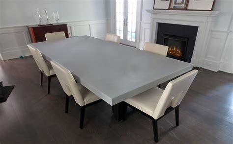 custom concrete kitchen dining tables trueform