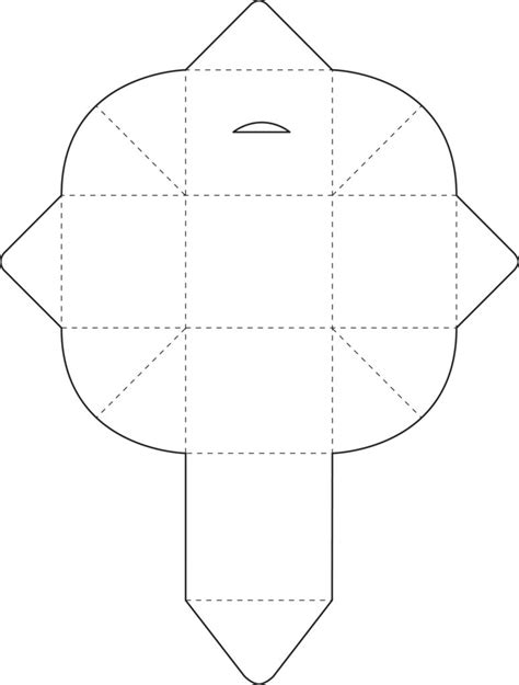 free coloring pages similiar origami box template