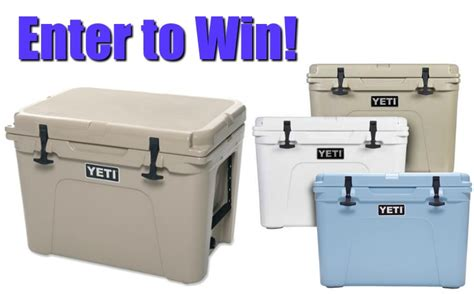 win a free yeti tundra 50 cooler 2016 - Cooler Giveaway